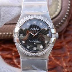 Best Replica 1:1 Swiss Quartz Omega Constellation Watch 27MM SOC0006