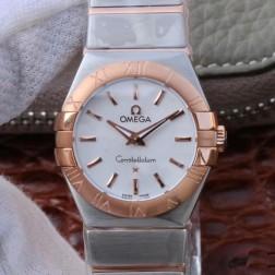 Best Replica 1:1 Swiss Quartz Omega Constellation Watch 27MM SOC0007
