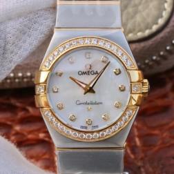 Best Replica 1:1 Swiss Quartz Omega Constellation Watch 27MM SOC0008