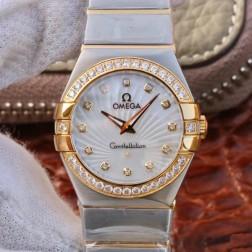 Best Replica 1:1 Swiss Quartz Omega Constellation Watch 27MM SOC0009