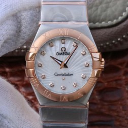 Best Replica 1:1 Swiss Quartz Omega Constellation Watch 27MM SOC0010