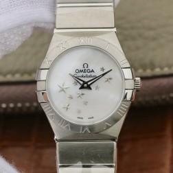 Best Replica 1:1 Swiss Quartz Omega Constellation Watch 27MM SOC0012