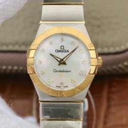 Best Replica 1:1 Swiss Quartz Omega Constellation Watch 27MM SOC0013