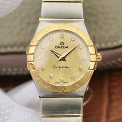 Best Replica 1:1 Swiss Quartz Omega Constellation Watch 27MM SOC0014