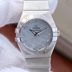 Best Replica 1:1 Swiss Quartz Omega Constellation Watch 27MM SOC0015