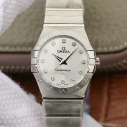 Best Replica 1:1 Swiss Quartz Omega Constellation Watch 27MM SOC0016