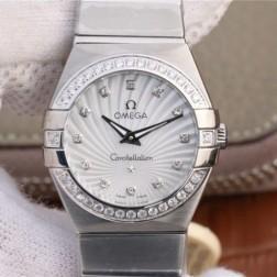 Best Replica 1:1 Swiss Quartz Omega Constellation Watch 27MM SOC0017