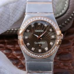 Best Replica 1:1 Swiss Quartz Omega Constellation Watch 27MM SOC0019