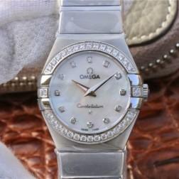 Best Replica 1:1 Swiss Quartz Omega Constellation Watch 27MM SOC0020