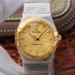 Best Replica 1:1 Swiss Quartz Omega Constellation Watch 27MM SOC0021