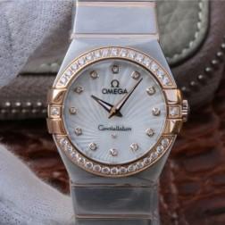 Best Replica 1:1 Swiss Quartz Omega Constellation Watch 27MM SOC0023