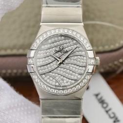 Best Replica 1:1 Swiss Quartz Omega Constellation Watch 27MM SOC0024