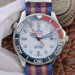 Best Replica 1:1 Swiss Automatic Omega Seamaster 007 Watch 41MM SOS0018