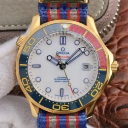 Best Replica 1:1 Swiss Automatic Omega Seamaster 007 Watch 41MM SOS0019