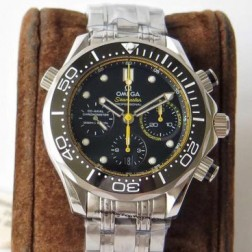 Best Replica 1:1 Swiss Automatic Omega Seamaster Chronograph Watch 44MM SOS0032