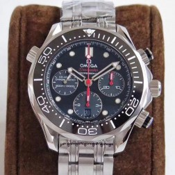 Best Replica 1:1 Swiss Automatic Omega Seamaster Chronograph Watch 44MM SOS0033