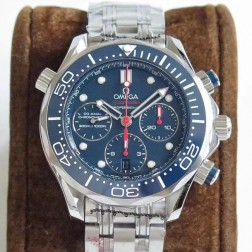 Best Replica 1:1 Swiss Automatic Omega Seamaster Chronograph Watch 44MM SOS0035