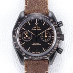 Best Replica 1:1 Swiss Automatic Omega Speedmaster Dark Side of the Moon Watch 44MM SOSM0009