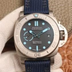 47MM Swiss Made Automatic New Swiss Panerai SUBMERSIBLE PAM00985 1:1 Best Replica Watch SPA0003