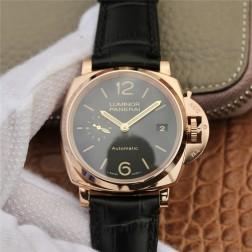 38MM Swiss Made Automatic New Swiss Panerai LUMINOR PAM00908 1:1 Best Replica Watch SPA0038