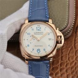 38MM Swiss Made Automatic New Swiss Panerai LUMINOR PAM00756 1:1 Best Replica Watch SPA0040