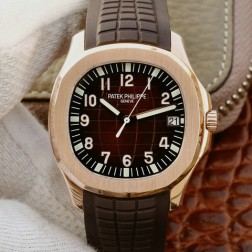 Swiss Made 1:1 Mirror Replica Patek Philippe Aquanaut 5167R-001 Rose Gold Watch SPP034