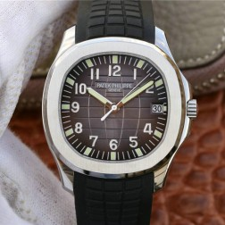 Swiss Made 1:1 Mirror Replica Patek Philippe Aquanaut Brown Dial SPP036