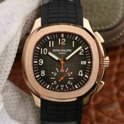Swiss Made 1:1 Mirror Replica Patek Philippe Aquanaut Rose Gold Watch SPP046