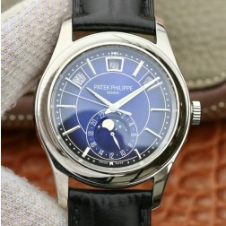 1:1 Mirror Replica Patek Philippe 5205G-013 Complications Blue Dial Swiss Made Watch SPP050