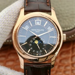 1:1 Mirror Replica Patek Philippe 5205R-001 Complications Rose Gold Swiss Made Watch SPP052
