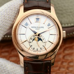 1:1 Mirror Replica Patek Philippe 5205R-001 Complications Rose Gold Swiss Made Watch SPP053