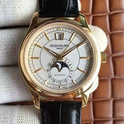 1:1 Mirror Replica Patek Philippe Complications Moon Phase Yellow Gold Swiss Made Watch SPP057