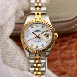 28MM Swiss Made Automatic New Version Ladies Rolex Woman Watch SR0023