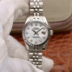 28MM Swiss Made Automatic New Version Ladies Rolex Woman Watch SR0025