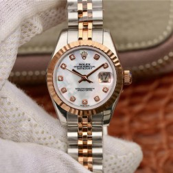 28MM Swiss Made Automatic New Version Ladies Rolex Woman Watch SR0028