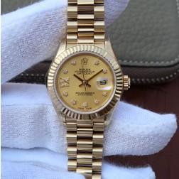 28MM Swiss Made Automatic New Version Ladies Rolex Woman Watch SR0029