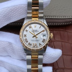 28MM Swiss Made Automatic New Version Ladies Rolex Woman Watch SR0030