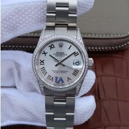 28MM Swiss Made Automatic New Version Ladies Rolex Woman Watch SR0031