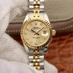28MM Swiss Made Automatic New Version Ladies Rolex Woman Watch SR0032
