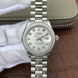 28MM Swiss Made Automatic New Version Ladies Rolex Woman Watch SR0033