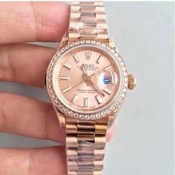 28MM Swiss Made Automatic New Version Ladies Rolex Woman Watch SR0034