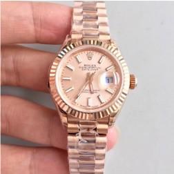 28MM Swiss Made Automatic New Version Ladies Rolex Woman Watch SR0036
