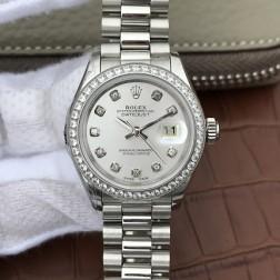 28MM Swiss Made Automatic New Version Ladies Rolex Woman Watch SR0037