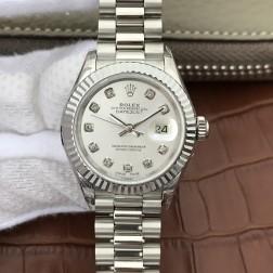 28MM Swiss Made Automatic New Version Ladies Rolex Woman Watch SR0038