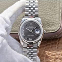36MM Swiss Made Automatic New Version Rolex Watch SR0048