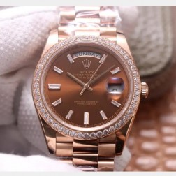 40MM Swiss Made Automatic New Version Rolex Day-Date Watch SR0069
