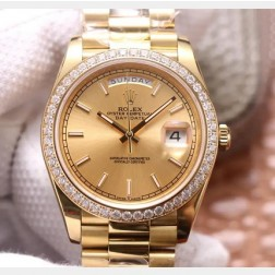 40MM Swiss Made Automatic New Version Rolex Day-Date Watch SR0072