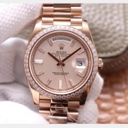 40MM Swiss Made Automatic New Version Rolex Day-Date Watch SR0073
