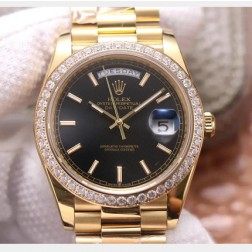 40MM Swiss Made Automatic New Version Rolex Day-Date Watch SR0074