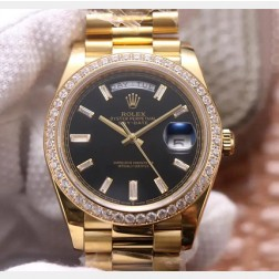 40MM Swiss Made Automatic New Version Rolex Day-Date Watch SR0076